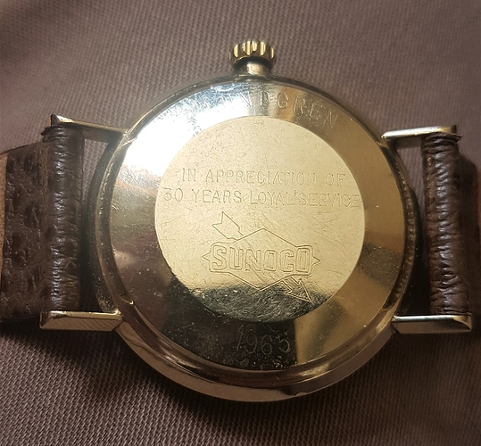 Colins Watch Rear
